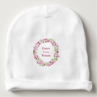 Future Nasty Woman Beanie Newborn hat Baby Beanie