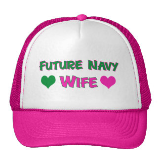 Future Navy Wife Trucker Hat