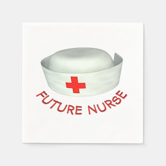Future Nurse Paper Napkin