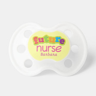 Future Nurse Personalized Baby Shower Nursing Gift Baby Pacifier