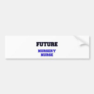 Future Nursery Nurse Bumper Sticker