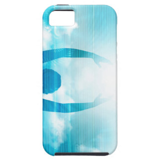 Future of Technology with a Professional Reaching iPhone 5 Case