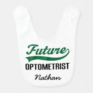 Future Optometrist Personalized Baby Bib