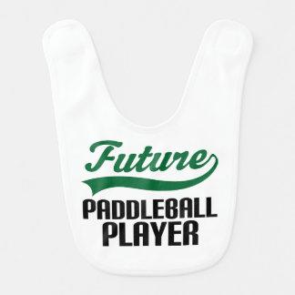 Future Paddleball Player Baby Bib