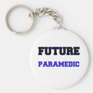 Future Paramedic Basic Round Button Keychain