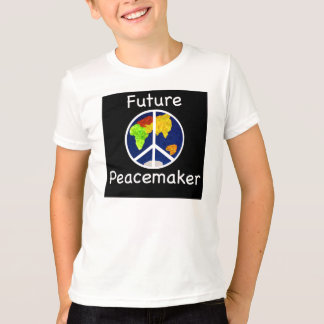 Future Peacemaker Children's Ringer T-Shirt