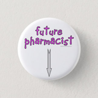 future pharmacist 1 inch round button