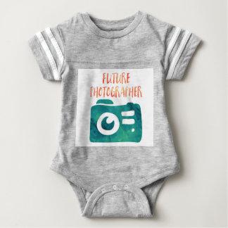Future Photographer Baby Jersey One Piece Baby Bodysuit