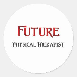 Future Physical Therapist Round Sticker