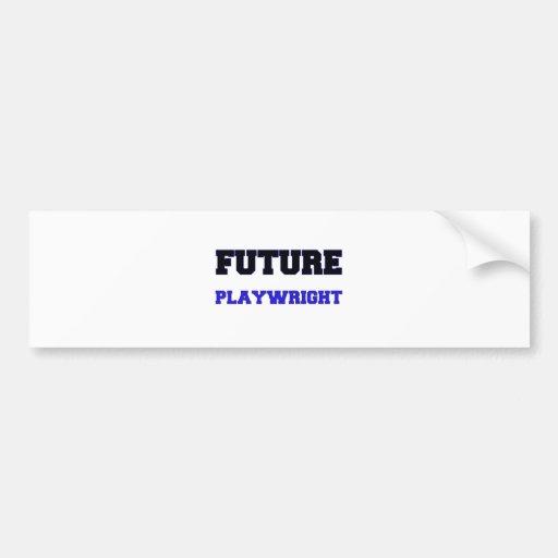 Future Playwright Bumper Sticker