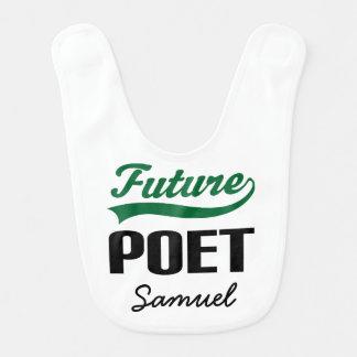 Future Poet Personalized Baby Bib