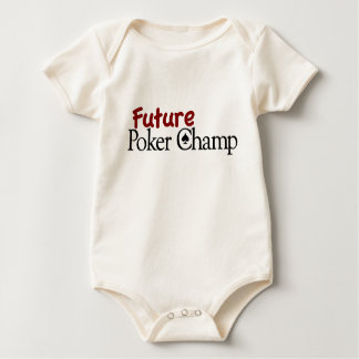 Future Poker Champ Baby Bodysuit