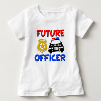 Future Police Officer baby boy shirt