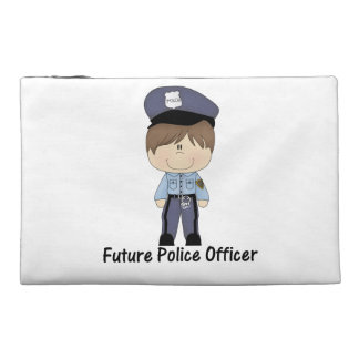 future police officer (boy) travel accessory bags