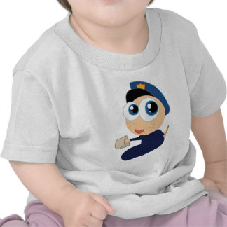 Future Police Officer Toddler Kids T-shirt