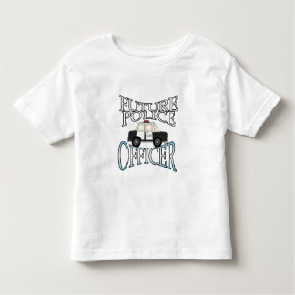 Future Police Officer Toddler T-shirt