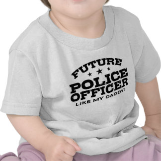 Future Police Officer Tshirt