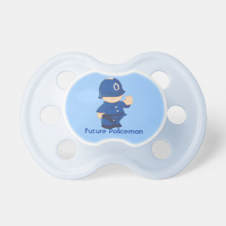 Future Policeman Baby Pacifiers