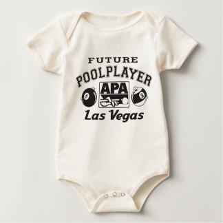 Future Pool Player Las Vegas Baby Bodysuit