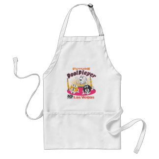 Future Pool Player - Pink Standard Apron