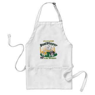 Future Pool Player - Yellow Standard Apron