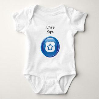 Future Popo Baby Bodysuit