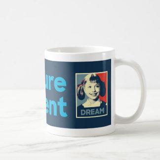 Future President Hillary Mug - Navy Stripe