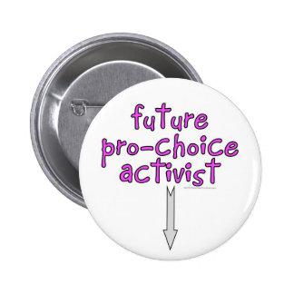 future pro-choice activist buttons