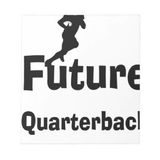 Future Quarterback Notepad