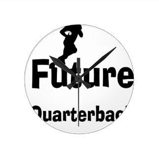 Future Quarterback Round Clock