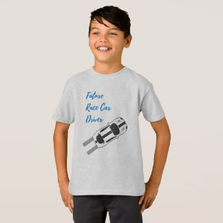 Future Race Car Driver - Kid's T-shirt