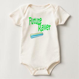 future raver baby shirt