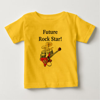 Future Rock Star Baby T-Shirt