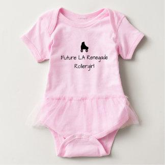 Future Rollergirl Tutu Baby suit Baby Bodysuit