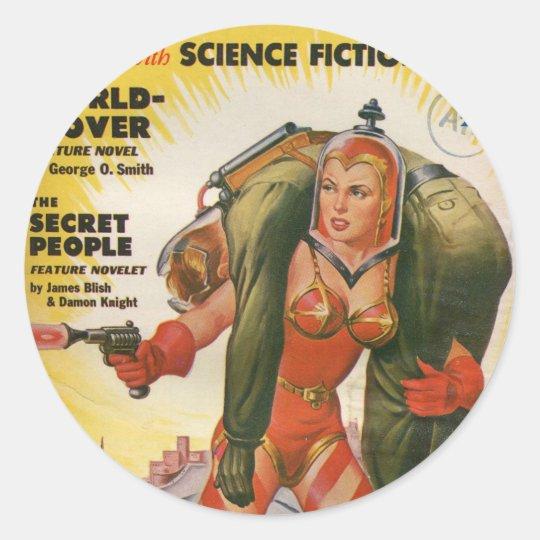Future Round Sticker