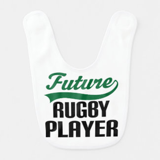 Future Rugby Player Baby Bib