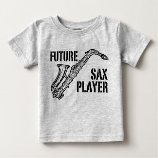 Future Sax Player Baby T-Shirt