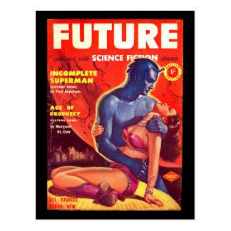 Future Science Fiction 02 (UK)_Pulp Art Postcard