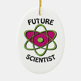 Future Scientist Ceramic Ornament