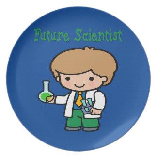 Future Scientist Dark Skin Plate
