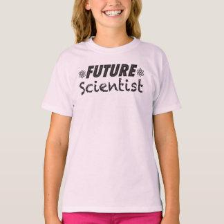 Future Scientist Girls T-shirt