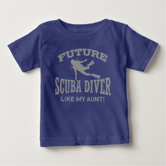 Future Scuba Diver Like My Aunt Baby T-Shirt