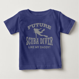 Future Scuba Diver Like My Daddy Baby T-Shirt