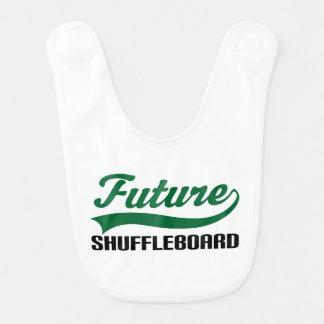 Future Shuffleboarder Baby Bib