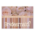 """Future Sister in Law Please be Bridesmaid 3.5"""" X 5"""" Invitation Card"""
