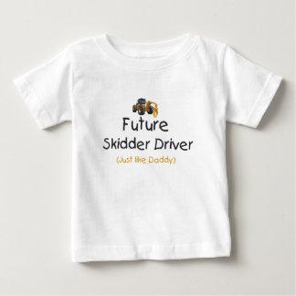 Future Skidder Driver Baby T-Shirt