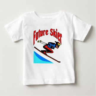 Future Skier Baby T-Shirt