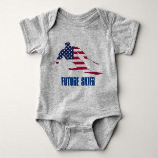 Future Skier Body Baby Bodysuit