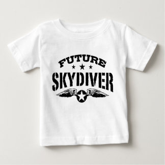 Future Skydiver Baby T-Shirt