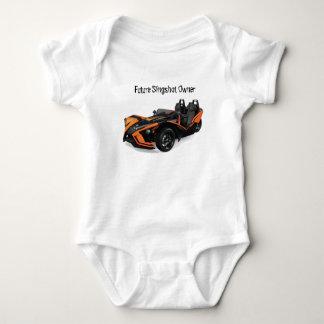 Future Slingshot Owner Baby Bodysuit